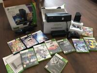 XBOX 360 Kinect + 11 Games + 2 Controllers
