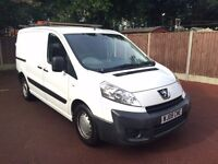 08 PLATE PEUGEOT EXPERT 2.0 HDI TWIN SIDE DOORS 1 OWNER FROM NEW VERY CLEAN