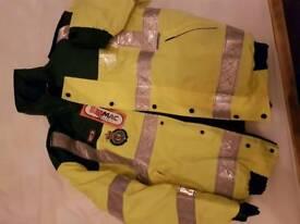 Hymac Paramedic Bomber Jacket