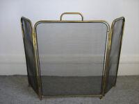 Brass Fireguard