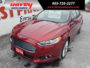 2014 Ford Fusion SE ALL WHEEL DRIVE, NAVIGATION, LEATHER INTE...