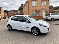 2013 RENAULT CLIO DYNAMIQUE TOM TOM 1.5 DIESEL, LEATHER, SAT NAV, CRUISE, BLUETOOTH, TAX £20
