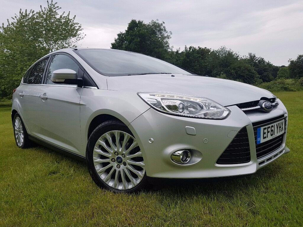 Ford focus 2012 1 6 tdci titanium x 5dr fullservhistop spec 20£