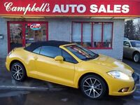 2009 Mitsubishi ECLIPSE SPYDER GT-P CONVERTIBLE!! HEATED LEATHER