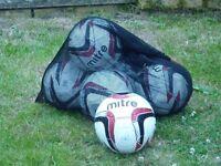 Mitre Vandis Footballs Size 5