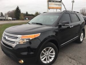 2014 Ford Explorer XLT Nice Loaded With NAV! Heated Leather,...