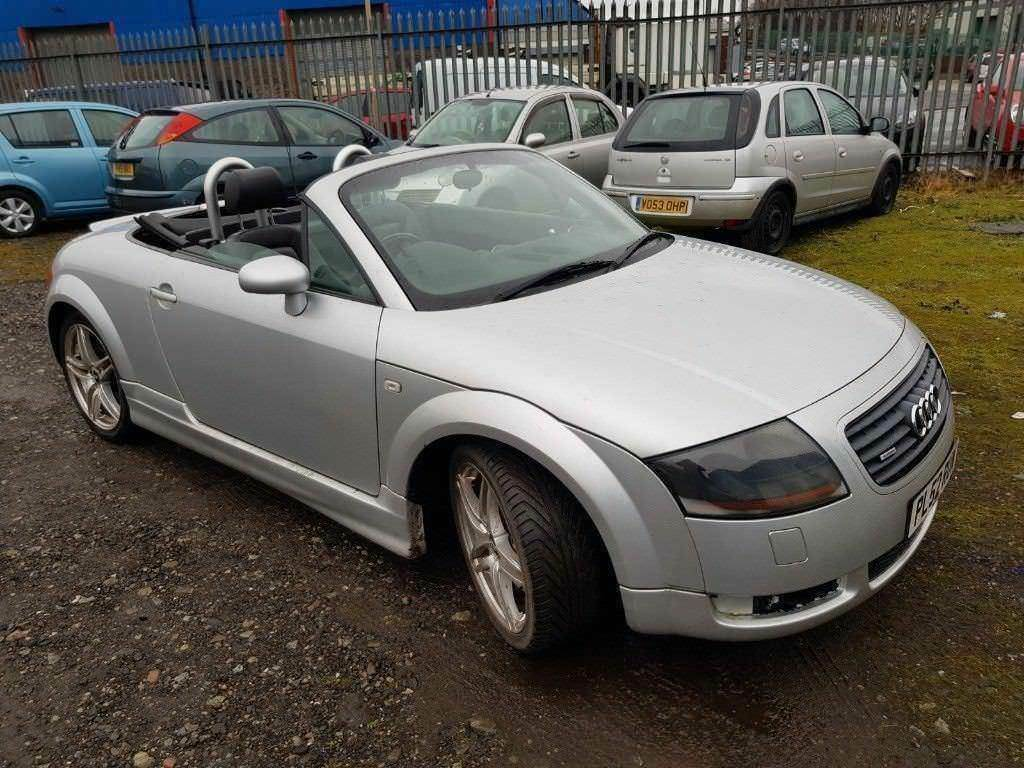 AUDI TT 225BHP CONVERTIBLE,, ( ANY OLD CAR PX WELCOME ) | in ...