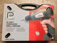 Performance 12v Cordless Drill/Driver