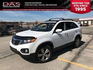 2012 Kia Sorento EX-LUXURY LEATHER/PANORAMIC SUNROOF