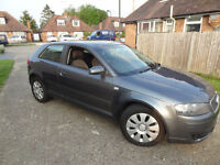 AUDI A3 1.9L DIESEL HATCHBACK SAME SIZE FORD FIESTA FOCUS VAUXHALL CORSA VW GOLF POLO BMW 118 A2 A1