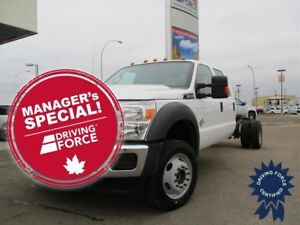 2016 Ford Super Duty F-550 DRW XLT Crew Cab 4X4 Chassis