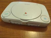 PSone Slim Replacement Console-only (works, no leads or plug) (PS One PS1)