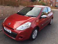 RENAULT CLIO iMUSIC 1.2 ** 55,000 MILES ** 10 PLATE ** 3 DOOR HATCH *