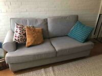 3 Seater Willow&Hall Buttermere Grey Sofa