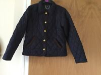 Girls jacket age 12/13 'Barbour Style'