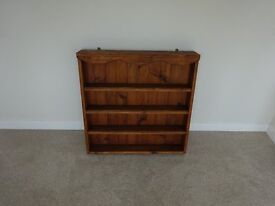 Wooden kitchen shelf unit