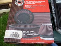 K and N Honda Civic car Filter and the cleaning Kit