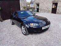 Mazda MX 5 1.8 2008 convertible, low mileage, great fun to drive