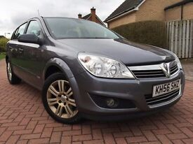 *12 MTHS WARRANTY*2007 VAUXHALL ASTRA 1.6 DESIGN TIMING BELT DONE AT 75K*ALLOYS HALF LEATHER*