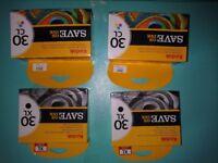 FREE - 4 Kodak Ink Cartridges 30CL & 30 XL