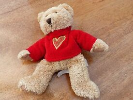 Cute soft toy bear with red heart T-Shirt