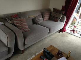 3 seater sofa damaged