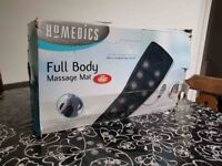 HOMEDICS FULL BODY MASSAGE MAT WITH HEAT IN VERY GOOD CONDITION AND WORKING PERFECTLY FINE