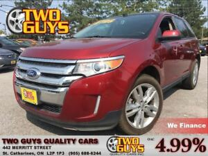 2013 Ford Edge SEL AWD NAV LEATHER MOONROOF CHROME