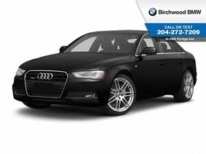 2013 Audi A4 Premium Local Car 1 Owner!