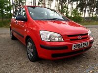 Hyundai Getz (04) 1.3. 1st car or cheap runabout. Only £1395. MOT April 2017. 42 000 mileage. FSH