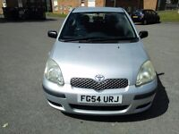 Low mileage Toyota Yaris with 6 months MOT & Fresh Service