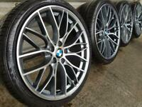 """4x BMW 3 4 5 6 7 Series 20"""" 405 M Performance style Alloy Wheels & Tyres F30 10"""