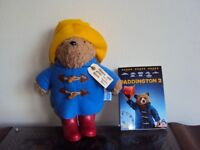 Paddington bear and Paddington2 Dvd