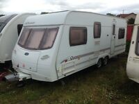 lunar quasar/615 6/berth fixed bunk beds twin axle 21ft 2007 PX welcome