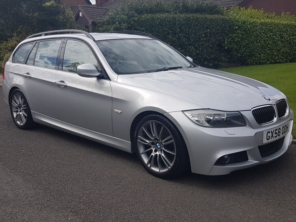 lci 2009 bmw 335i m sport touring estate 3 0 300bhp twin. Black Bedroom Furniture Sets. Home Design Ideas