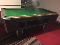 Free pool table needs repair
