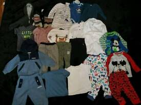 Mixed Bundle Boys 6-9m & 9-12m Clothes inc McKenzie, Zara & more
