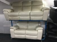 New / Ex Display LazyBoy Recliners 3 Seater + 2 Seater Sofas