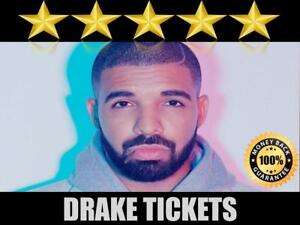 Discounted Drake Tickets  | Last Minute Delivery Guaranteed!