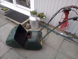 atco electric cylinder lawnmower