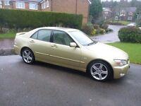 Lexus Is 200 Gold. Excellent condition