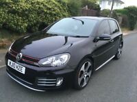 2010 10 Volkswagen Golf GTI 2.0 DYNAUDIO MILTEK LEATHERS RNS DRL LEDS ££££'S CHEAPEST WITH SPEC
