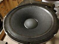 """15"""" Peavey 1508 sps bw speaker black widow"""