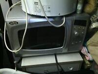 belling silver microwave oven 800 watt countertop