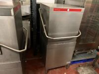 SERVICED HOBART DISH WASHER CATERING COMMERCIAL KITCHEN TAKE AWAY FAST FOOD SHOP