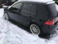 VW Golf mk4 2.8 V6 4 Motion (4WD) £700ono