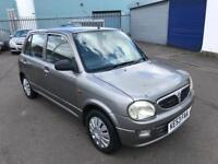 PERDOUA KELSIA 1.0 AUTOMATIC 2003 53 REG 5 DOOR HATCHBACK + MOT NOV 2018