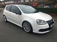 VW Golf R32- 3/Door In Stunning White with Black Roof - PX Welcome