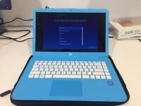 HP laptop. Nearly new used a couple of times only