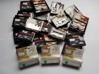 Job lot of BNIB False eyelashes and eyelash glue great for resale.